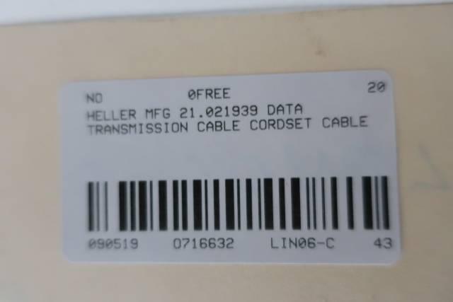 HELLER MFG 21.021939 DATA TRANSMISSION CABLE