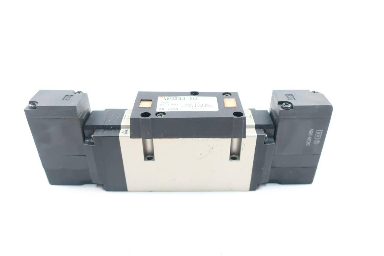 Smc NVFS2300-5FZ Solenoid Valve 21-26 Vdc 0.15-1.0 Mpa