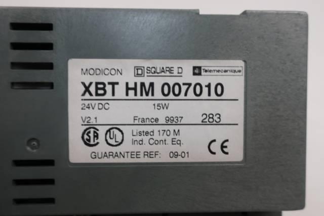 TELEMECANIQUE XBT HM 007010 SQUARE D MODICON OPERATOR INTERFACE PANEL