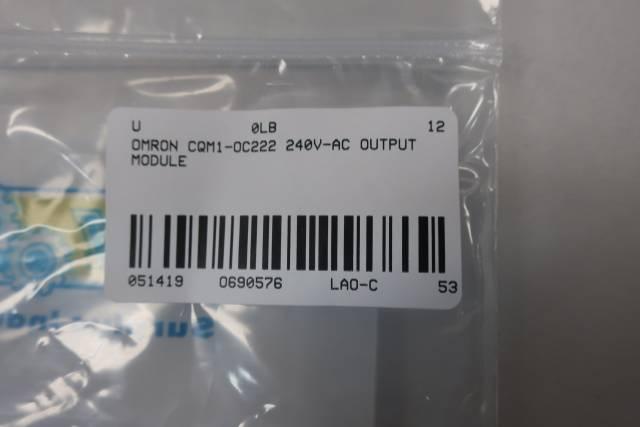 OMRON CQM1-OC222 OUTPUT MODULE 240V-AC