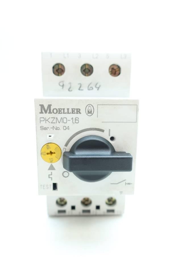 Klockner Moeller Pkzm0 4hp D658516