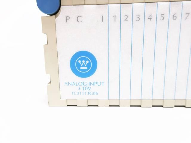 WESTINGHOUSE 1C31113G06 OVATION ANALOG INPUT MODULE