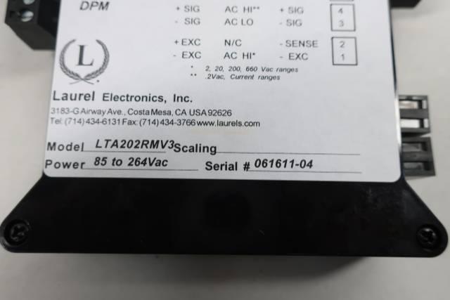LAUREL ELECTRONICS LTA202RMV3 DIN RAIL TRANSMITTER I/O MODULE