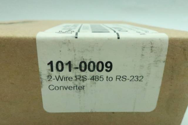 MICROFLEX 101-0009 RS-232 TO 2-WIRE RS-485 CONVERTER