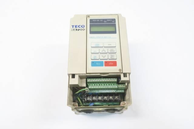 TECO MA7200-4002-N1 AC MOTOR DRIVE 460V-AC 4A AMP 2HP D593725