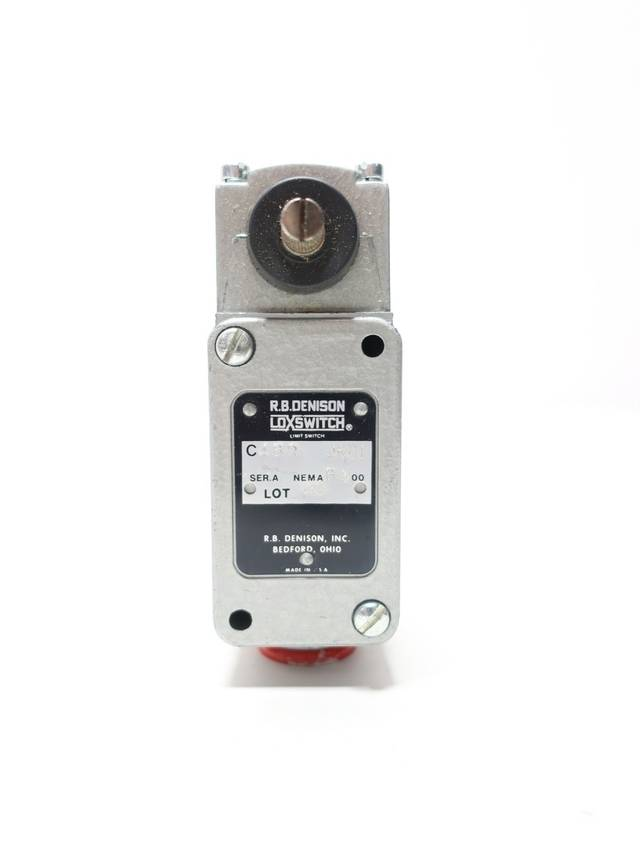 TELEMECANIQUE C4BR-JK01 RB DENISON LOX 300V-AC LIMIT SWITCH ROLLER LEVER R689966