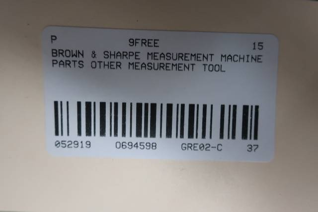 BROWN & SHARPE VIDEO ENCODER LIGHT PEN MODULE