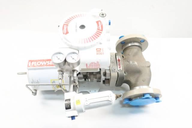 FLOWSERVE MK-1 VALTEK PNEUMATIC 150 IRON FLANGED 2IN CONTROL VALVE D627549