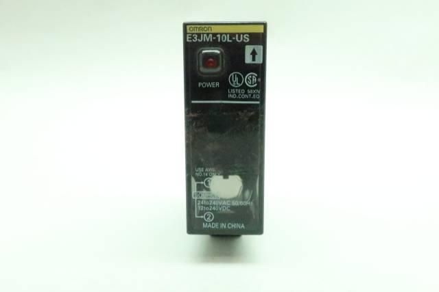 OMRON E3JM-10L-US PHOTOELECTRIC SENSOR 24-240V-AC