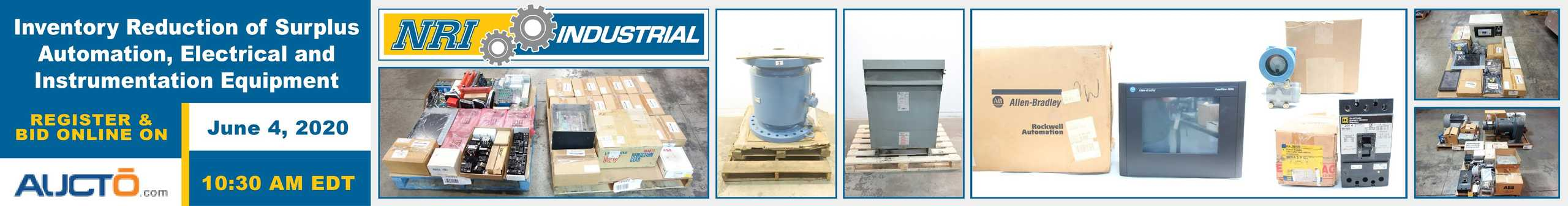 Buy Surplus Industrial Equipment