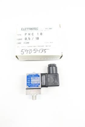 ELETTROTEC PMC 10 250V-AC PRESSURE SWITCH