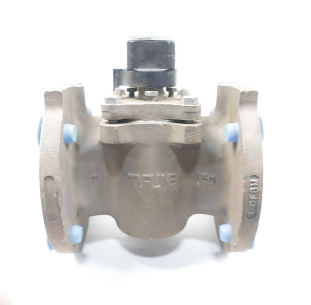 TUFLINE 067 STAINLESS 150 FLANGED 3IN PLUG VALVE D660793