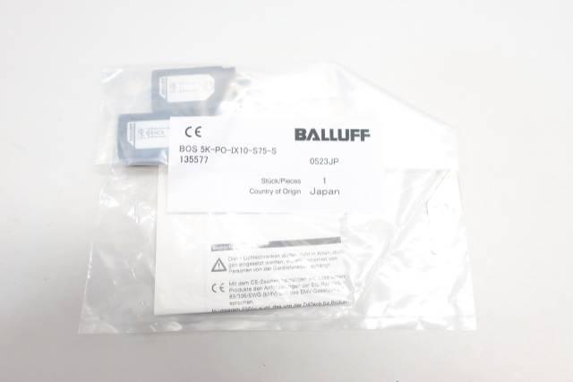 BALLUFF BOS 5K-PO-IX10-S75-S PHOTOELECTRIC SENSOR 10-30V-DC