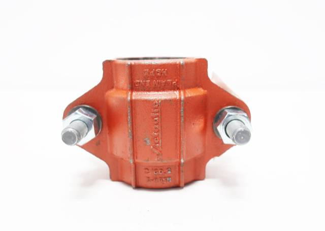 VICTAULIC STYLE 995N HDPE PLAIN END STEEL 2IN PIPE COUPLING