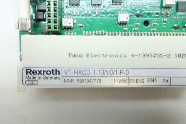 REXROTH VT-HACD-1-13/V0/1-P-0 CONTROLLER CARD