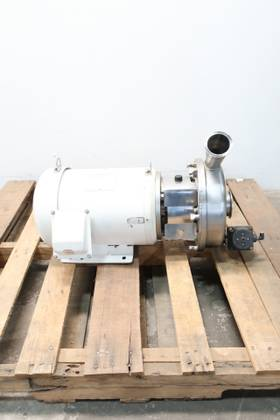 NA DBO102PHA TRI-CLAMP STAINLESS 2-1/2IN 10HP SANITARY 3IN 208-230/460V-AC CENTRIFUGAL PUMP