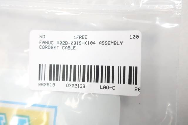 FANUC A02B-0319-K104 CABLE ASSEMBLY