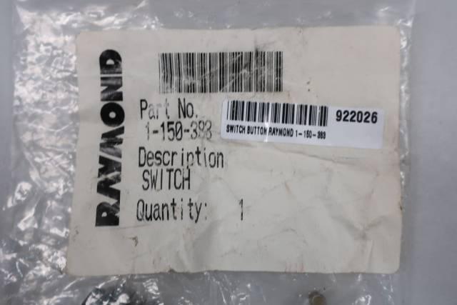 RAYMOND 1-150-383 PUSHBUTTON SWITCH 250V-AC