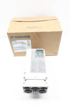 YASKAWA CIMR-AU4A0004FAA 380-480V-AC 0-400HZ 0-480V-AC AC VFD DRIVE