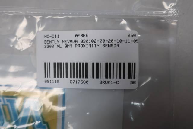 BENTLY NEVADA 330102-00-20-10-11-05 3300 XL 8MM PROXIMITY SENSOR