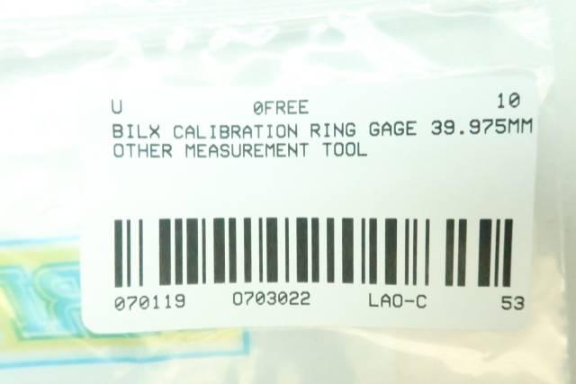 BILX CALIBRATION RING 39.975MM
