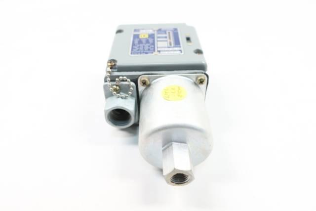 SQUARE D 9012 ACW-3 PRESSURE SWITCH 1-10PSI