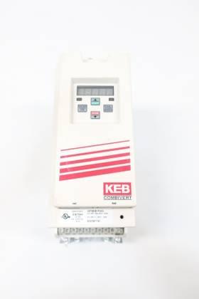 KEB 10F5B1B-P003 COMBIVERT 208-240V-AC 0-1600HZ 0-240V-AC 3HP AC VFD DRIVE