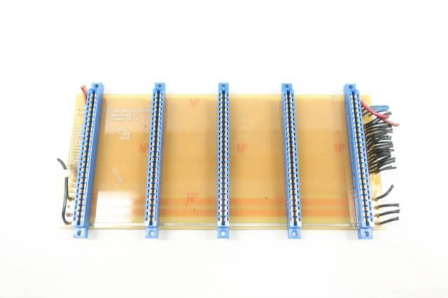 PRC-100 7610026 RAPPER CONTROL 5-SLOT BACKPLANE PCB CIRCUIT BOARD REV A