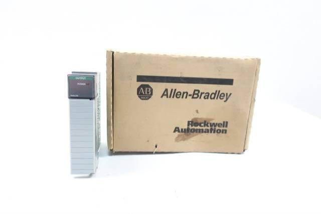 ALLEN BRADLEY 1746-NO4V SLC 500 OUTPUT MODULE REV B SER A