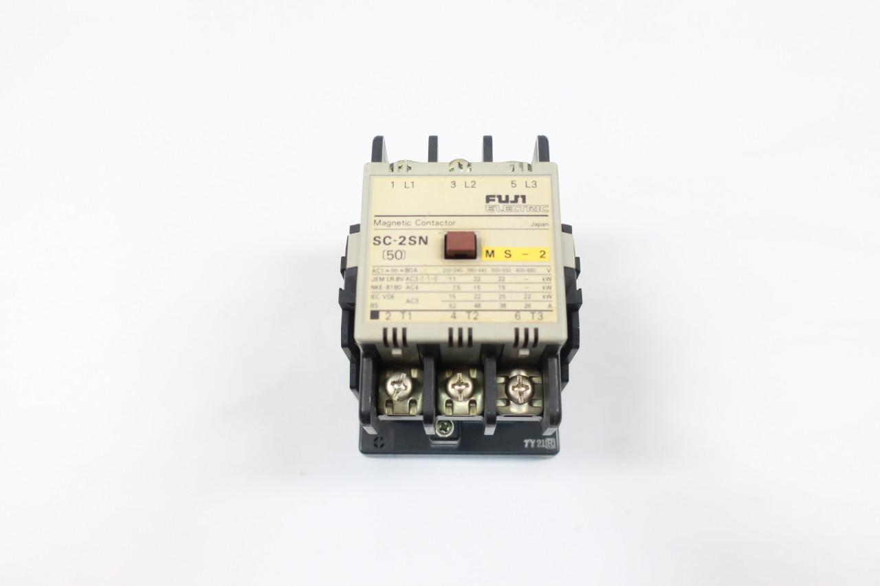 FUJI ELECTRIC SC-2SN 110VAC  MAGNETIC CONTACTOR
