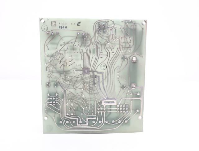 LEEDS NORTHRUP 445659 REV E ALARM PCB CIRCUIT BOARD R690520