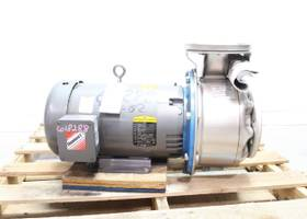 GOULDS 23SH4L52A0 3X4-8 STAINLESS 3IN STEEL 9.0625IN 10HP 4IN 208-230/460V-AC CENTRIFUGAL PUMP