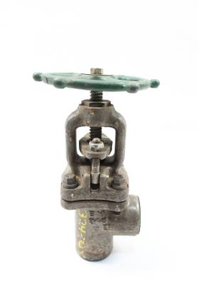 ROCKWELL-EDWARD 849Y MANUAL STEEL SOCKET WELD 1IN GLOBE VALVE