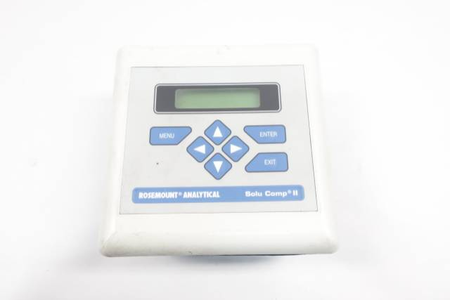 ROSEMOUNT ANALYTICAL 1055-01-10-20-30 SOLU COMP II CONDUCTIVITY ANALYZER D660449