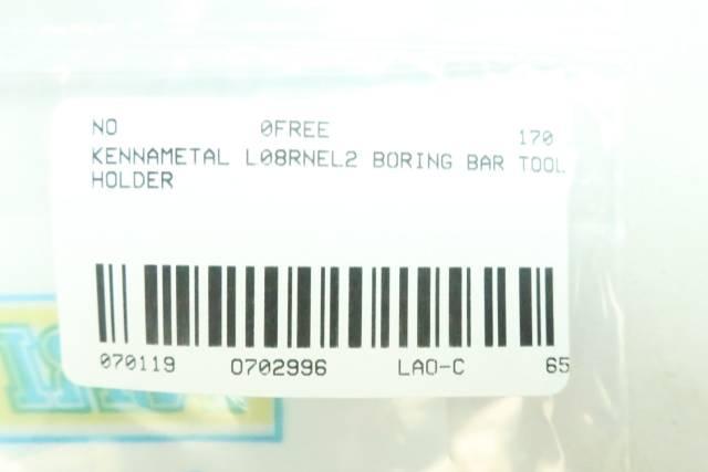 KENNAMETAL L08RNEL2 BORING BAR