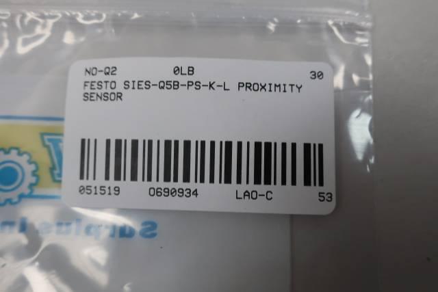 FESTO SIES-Q5B-PS-K-L PROXIMITY SENSOR