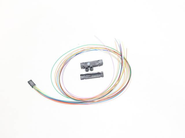 CORNING FAN-BT25-12 FIBER OPTIC CABLE FAN OUT KIT ASSEMBLY 25IN