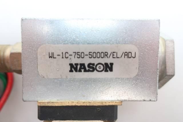 NASON WL-1C-750-5000R/EL/ADJ PRESSURE SWITCH 1/4IN
