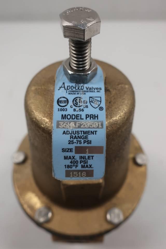 APOLLO PRH 36HLF20501 1IN NPT PRESSURE REDUCING VALVE D660778