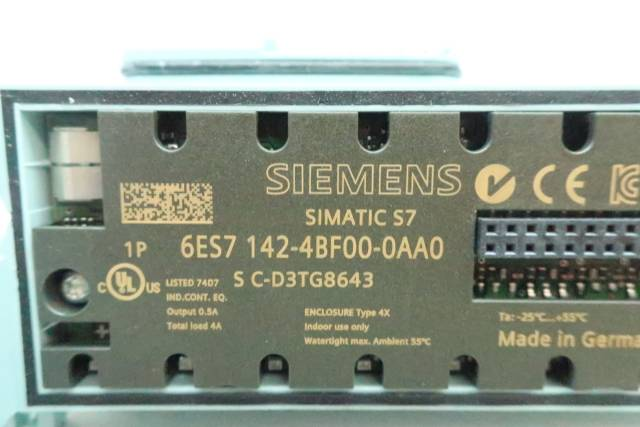 SIEMENS 6ES7 142-4BF00-0AA0 SIMATIC S7 ELECTRONIC MODULE