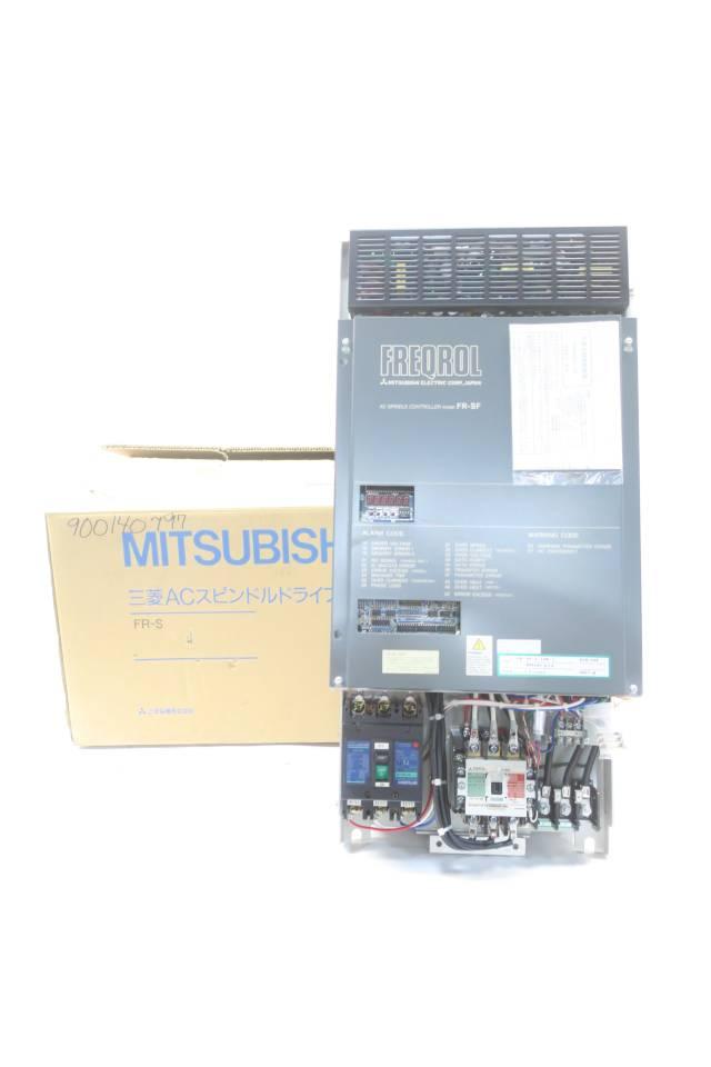 MITSUBISHI FR-SF-2-15K-C FREQROL AC SPINDLE DRIVE 55A 200-230V 15KW D586398