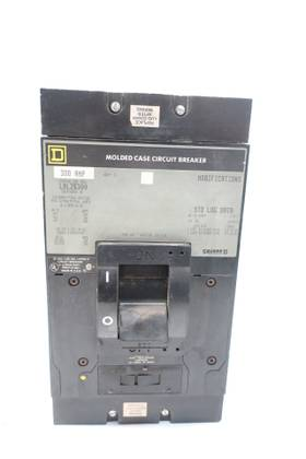 SQUARE D LAL26300 3P 300A AMP 240/480/600V-AC MOLDED CASE CIRCUIT BREAKER