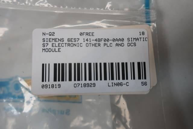 SIEMENS 6ES7 141-4BF00-0AA0 SIMATIC S7 ELECTRONIC MODULE
