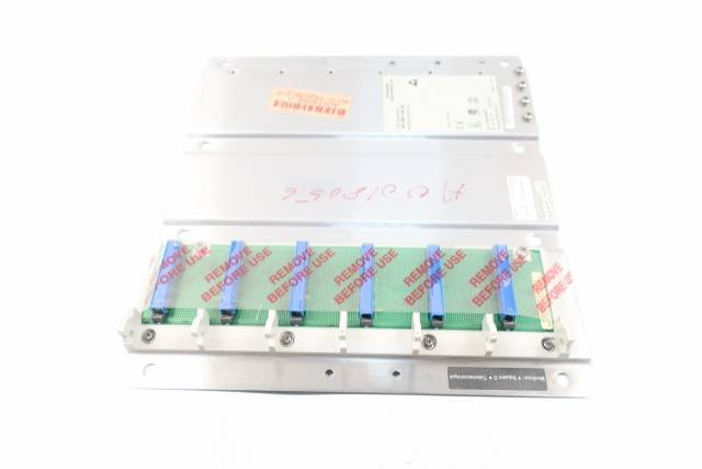 MODICON 140 XBP 006 00 6 SLOT BACKPLANE CHASSIS MODULE
