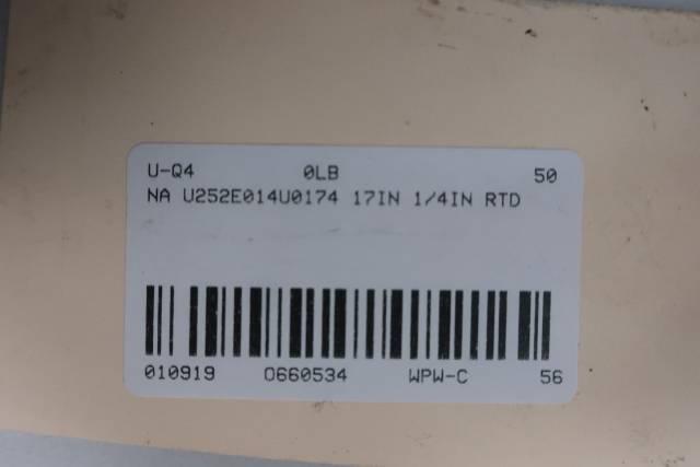 GE U252E014U0174 17IN THERMOCOUPLE 1/4IN D660534
